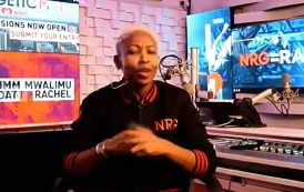 Mwalimu Rachel joins NRG Radio and is looking for talent