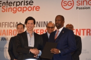 KNCCI Participates in the Enterprise Singapore (ESG) official opening of Nairobi Overseas Centre