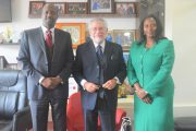 Courtesy call by the Chilean Ambassador to Kenya