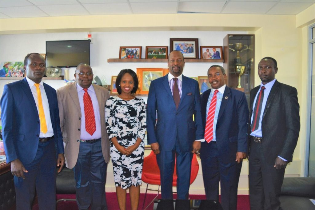 KNCCI –West Pokot County Government Partnership Meeting