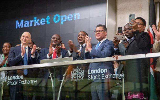 Launch of sovereign green bond on the London Stock Exchange courtesy of Acorn Holdings Ltd