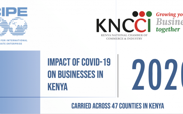 Impact of COVID-19 on Businesses IN Kenya Report